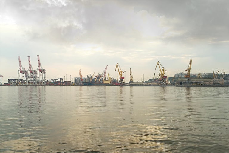 Port and maritime structures